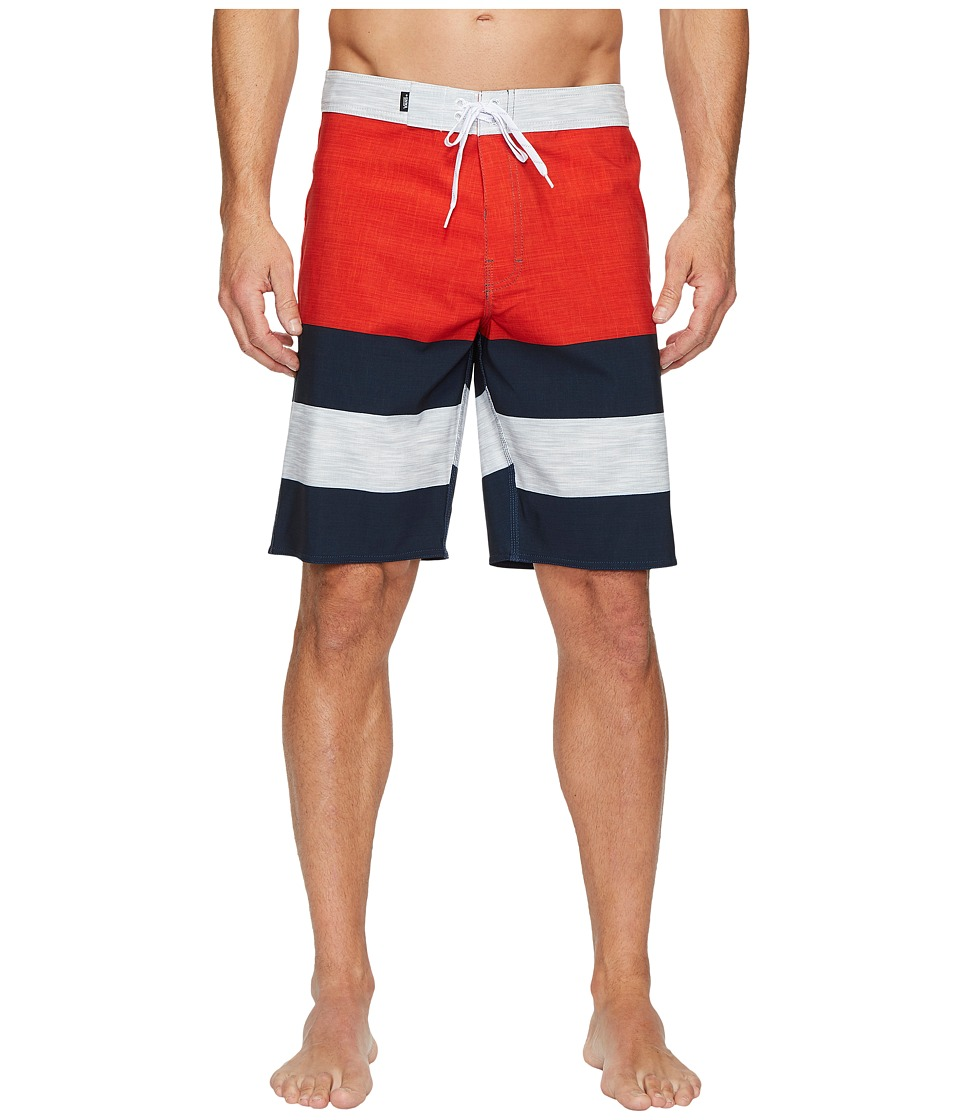 Vans Era Stretch Boardshorts 20 (Chili Pepper/Dress Blues) Men