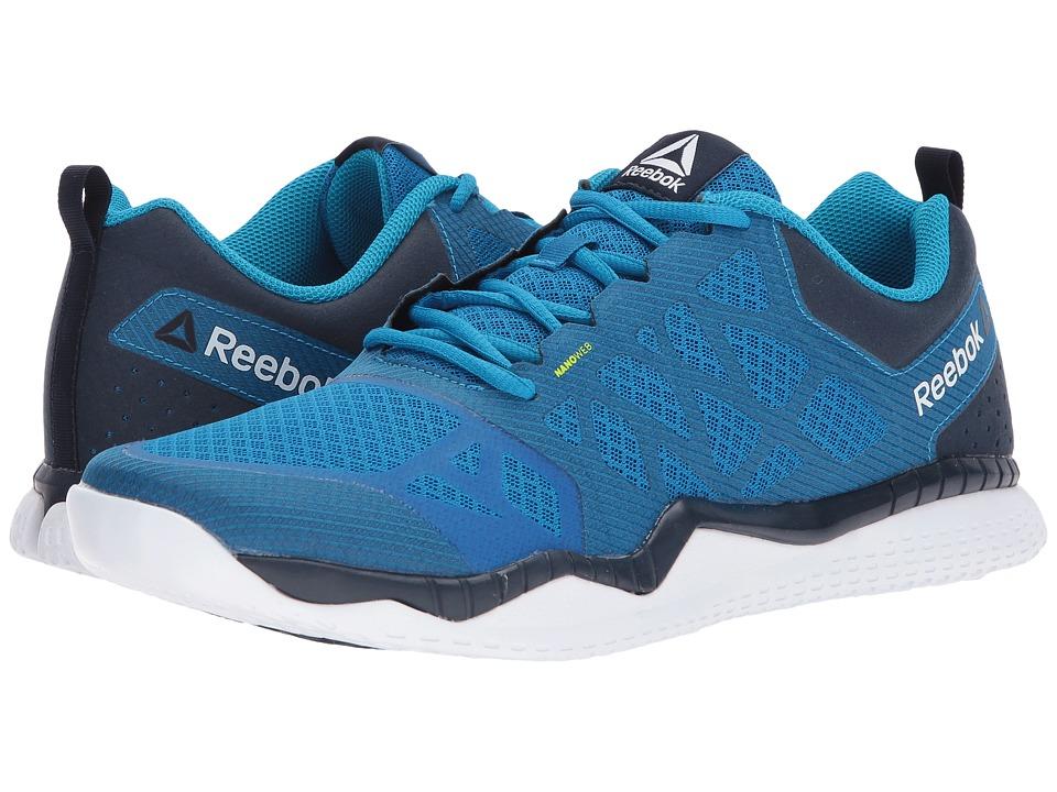 Reebok - ZPrint Train (Instinct Blue/Collegiate Navy) Men's Cross Training Shoes