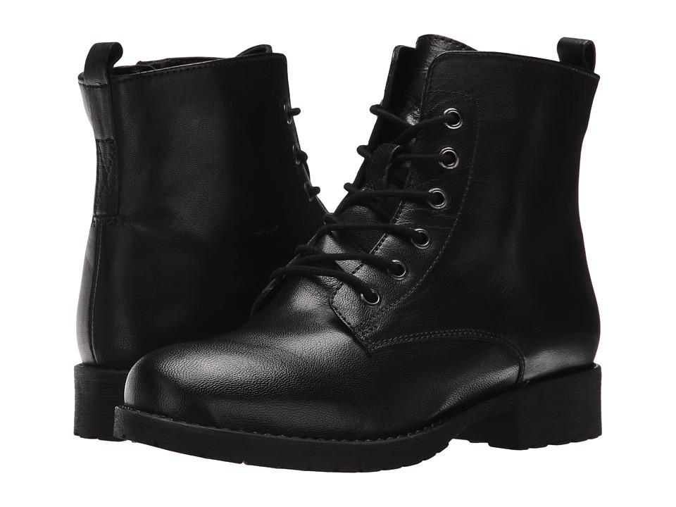 Steve Madden Gaylen (Black Leather) Women