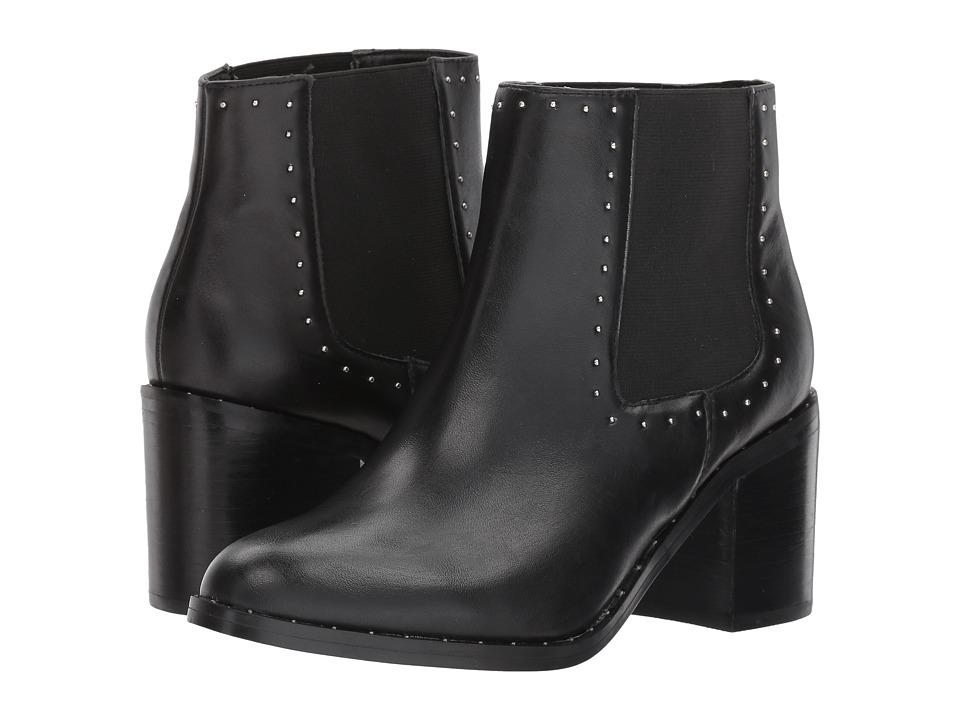 Steve Madden Malorie (Black Leather) Women