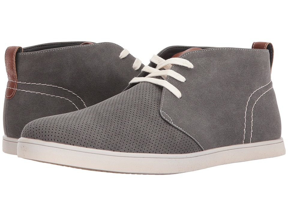Steve Madden - Peter (Grey) Men's Shoes