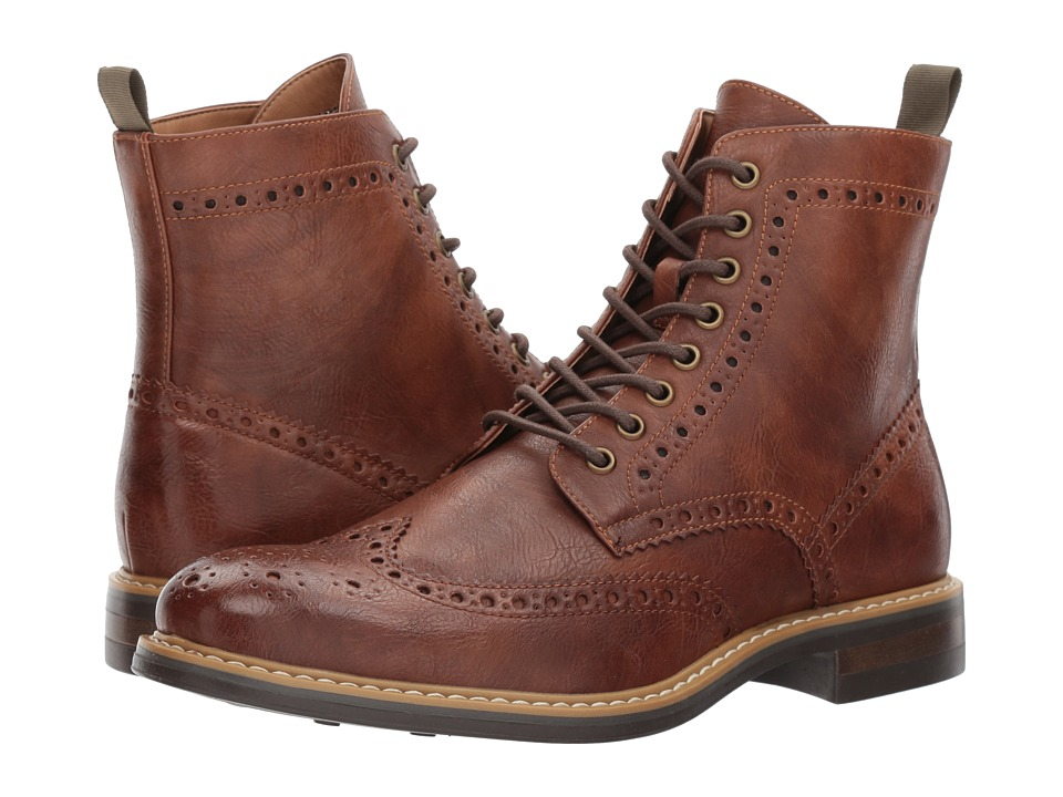 Steve Madden - Fence (Cognac) Men's Shoes
