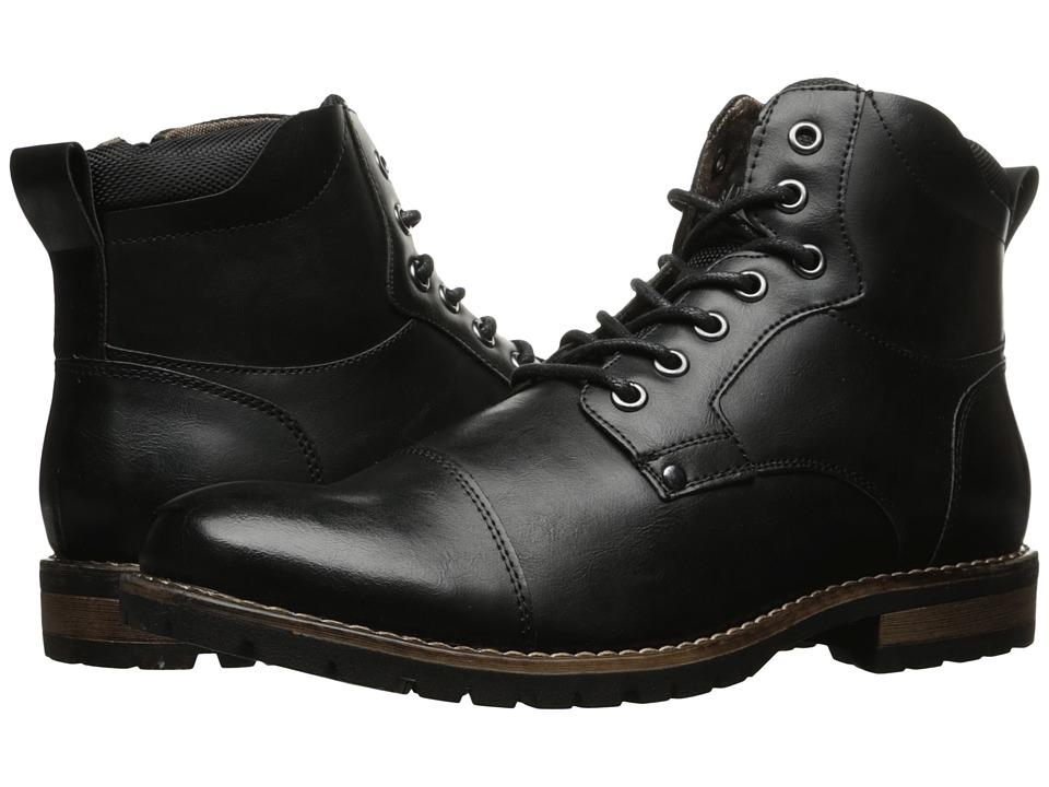 Steve Madden - Sassy (Black) Men's Shoes