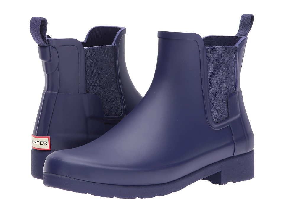 Hunter Original Refined Chelsea Boots (Neptune) Women