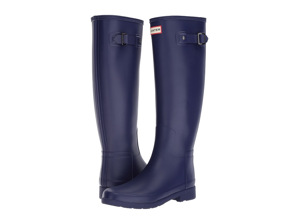 Hunter Original Refined Rain Boots (Neptune) Women