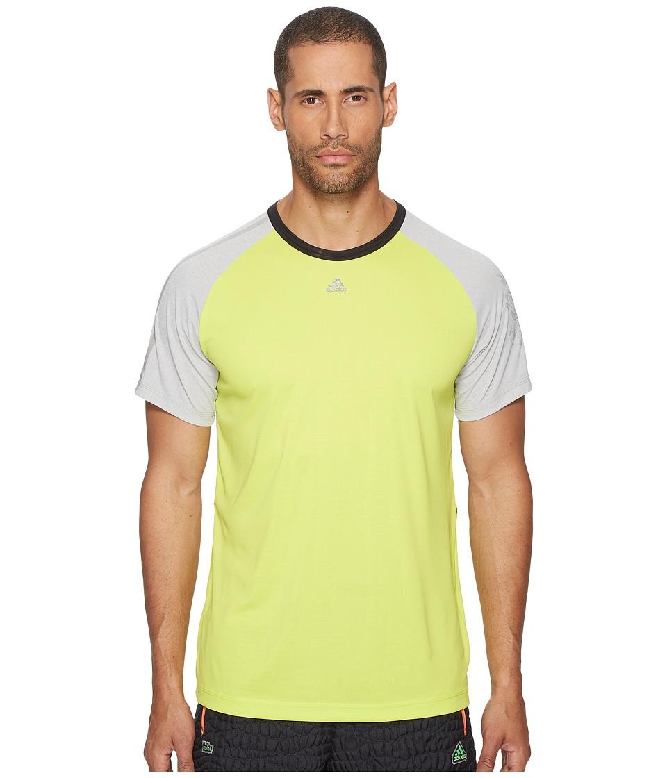adidas x Kolor climachill Tee (Semi Solar Yellow) Men