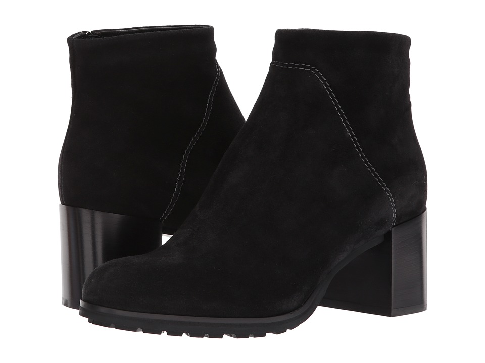Aquatalia Everett (Black Suede) Women