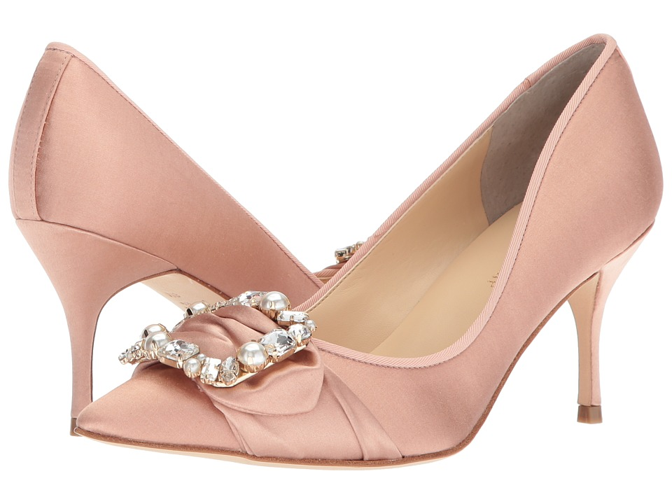 Ivanka Trump Beven (Medium Pink Satin) High Heels
