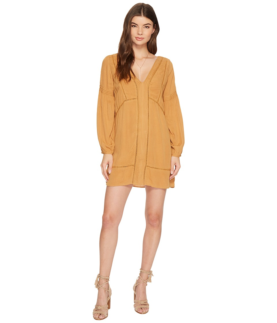 Amuse Society Berkley Dress (Gold) Women