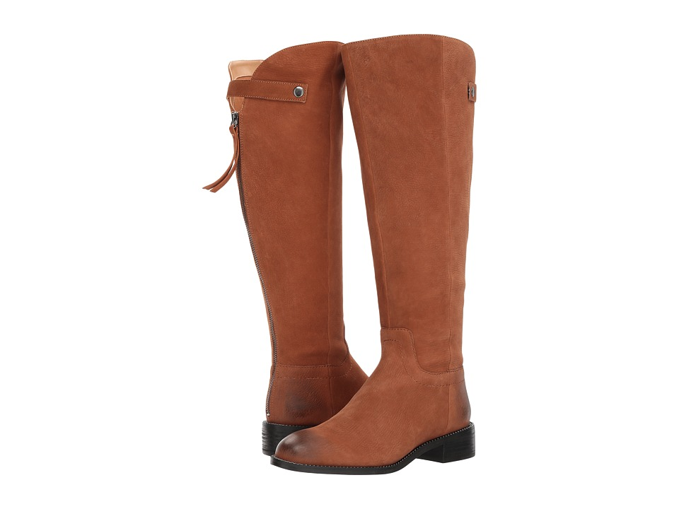 Franco Sarto Brindley Wide Calf (Whiskey Morocco Leather) Women
