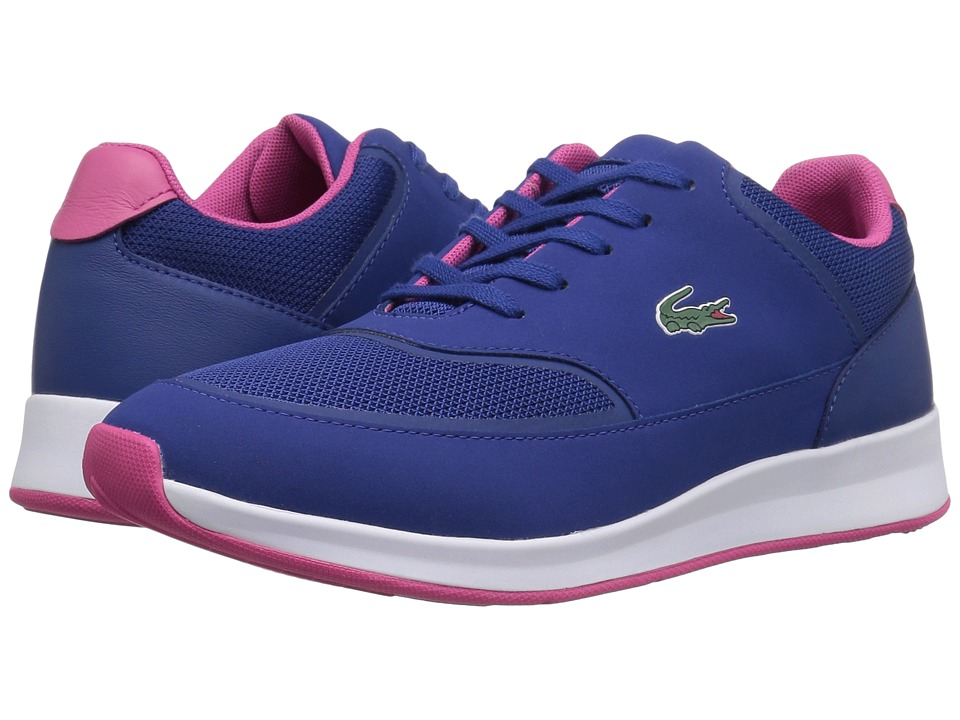 Lacoste - Chaumont Lace 117 2 SPW (Blue) Women's Shoes