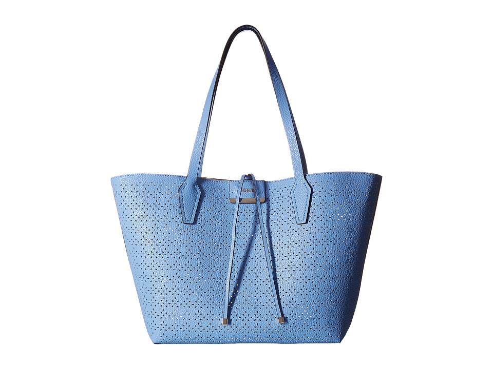 GUESS - Bobbi Inside Out Tote (Blueberry Nude) Tote Handbags