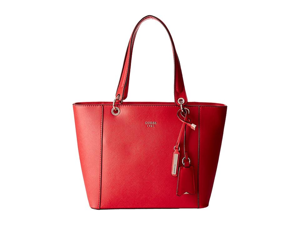 GUESS - Kamryn Tote (CNY Red) Tote Handbags