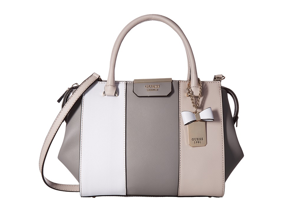 GUESS - Ryann Satchel (Cloud Multi) Satchel Handbags