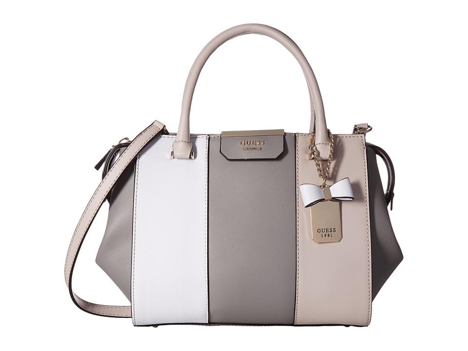 GUESS - Ryann Satchel (Cloud Multi) Satchel Handbags
