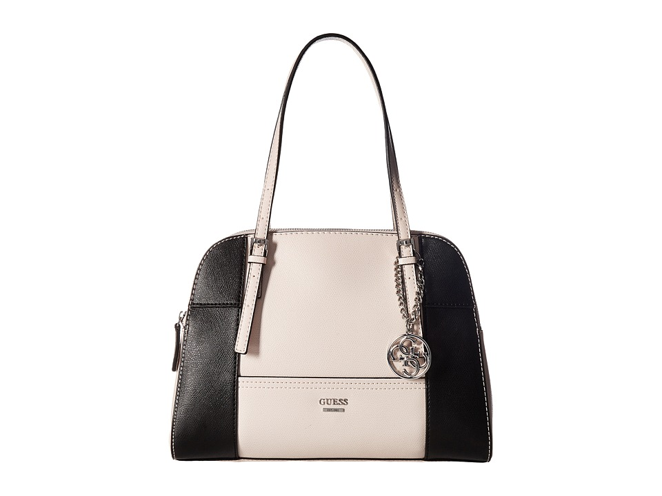 GUESS - Huntley Cali Satchel (Powder Multi) Satchel Handbags
