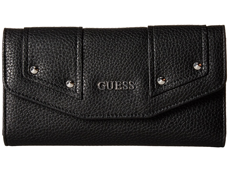 GUESS - Rikki SLG Multi Clutch (Black) Clutch Handbags