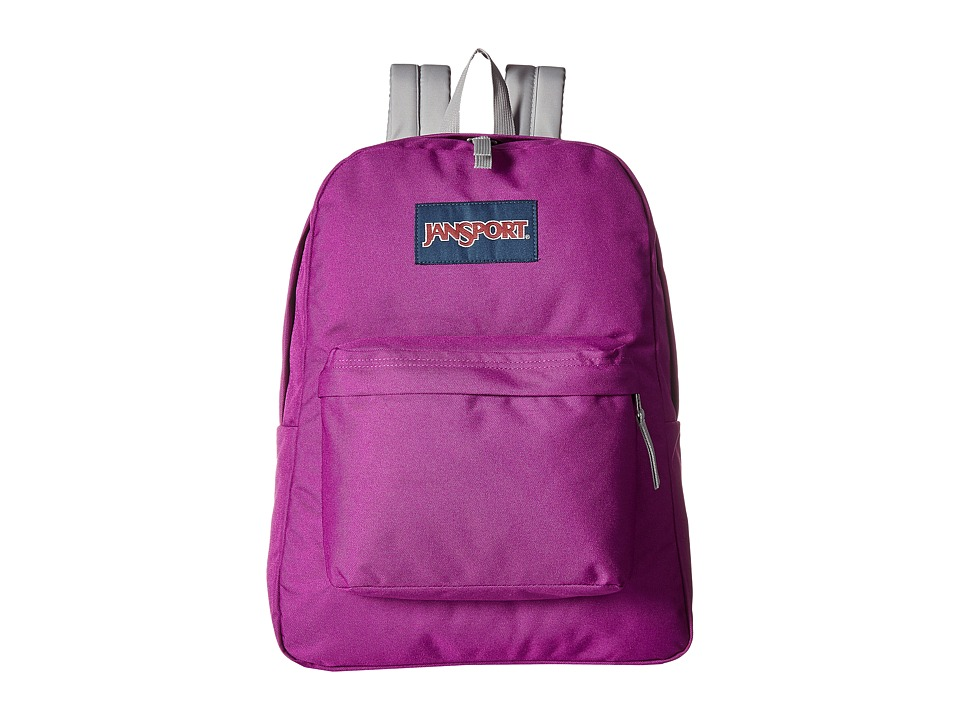 JanSport - SuperBreak(r) (Purple Plum GS) Backpack Bags