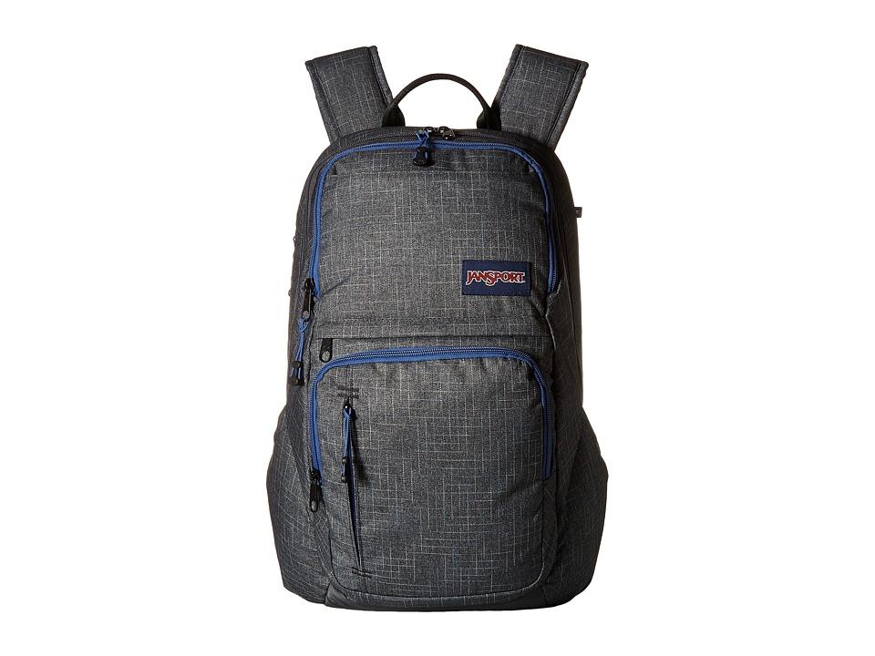 JanSport - Broadband (Grey Vanishing Rip) Backpack Bags