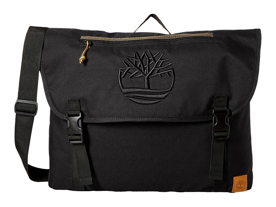 Timberland - Mendum Pond Messenger Bag (Black) Messenger Bags