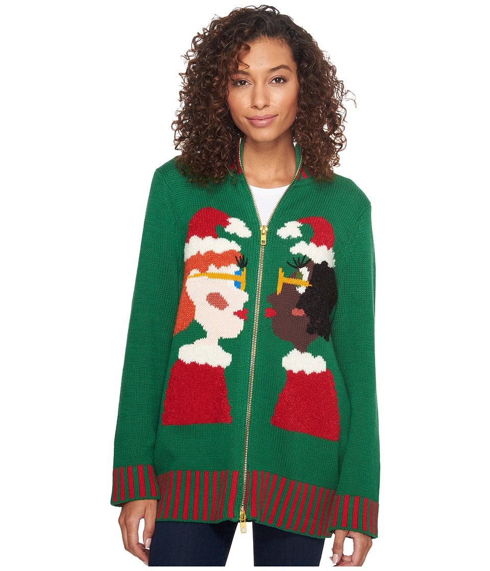 Whoopi 2 Mrs Clauses (Multi) Sweater