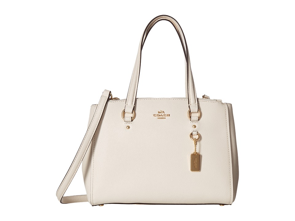 COACH - Crossgrain Update Stanton 26 (LI/Chalk) Handbags