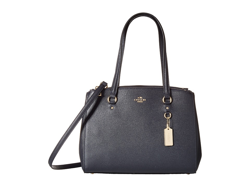 COACH - Crossgrain Updated Stanton 29 Carryall (LI/Navy) Handbags