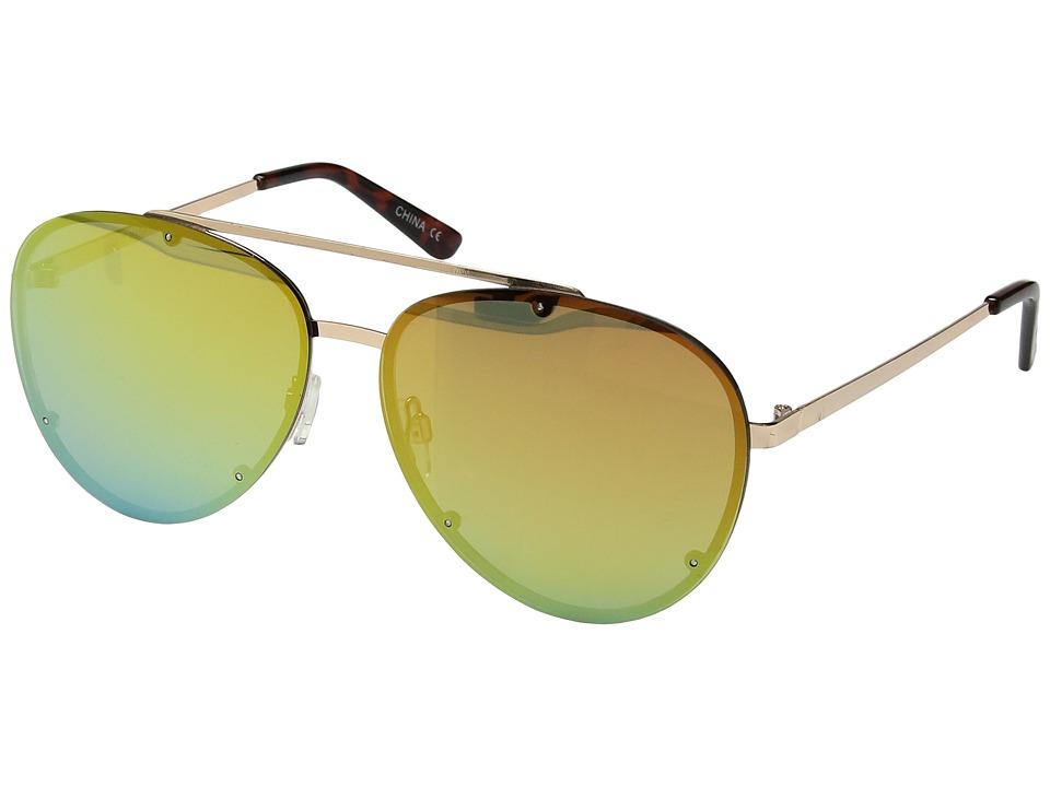 Steve Madden - SM482106 (Gold Rainbow) Fashion Sunglasses