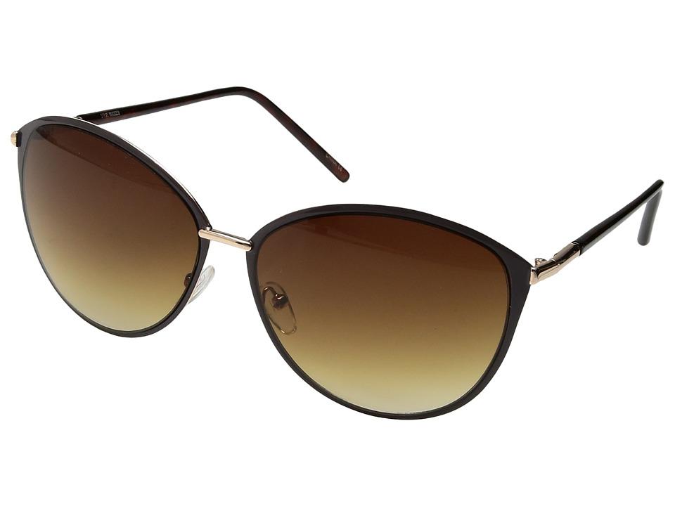 Steve Madden - SM484101 (Brown) Fashion Sunglasses