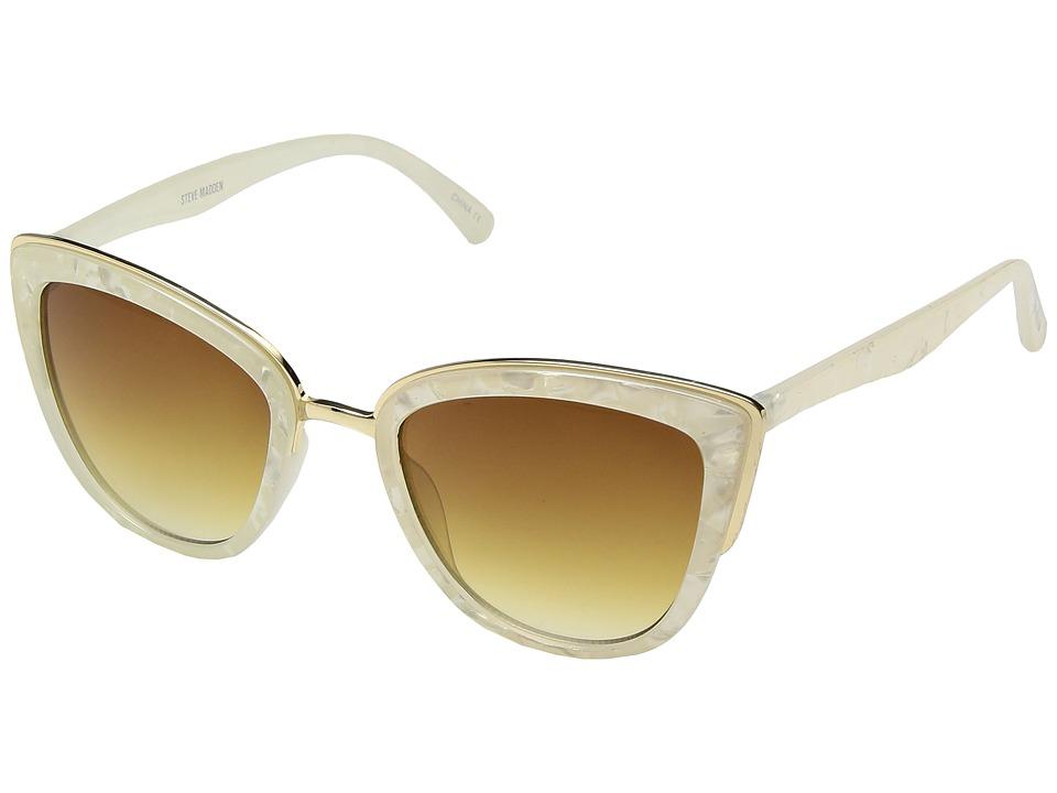Steve Madden - SM869135 (White Marble) Fashion Sunglasses
