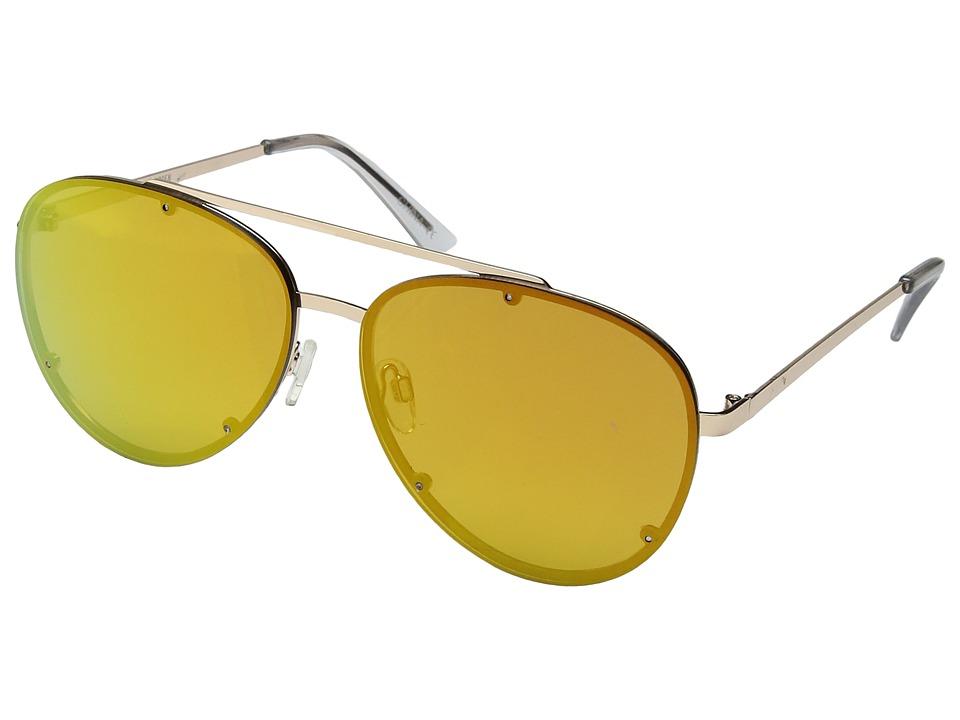 Steve Madden - SM482106 (Gold/Pink) Fashion Sunglasses