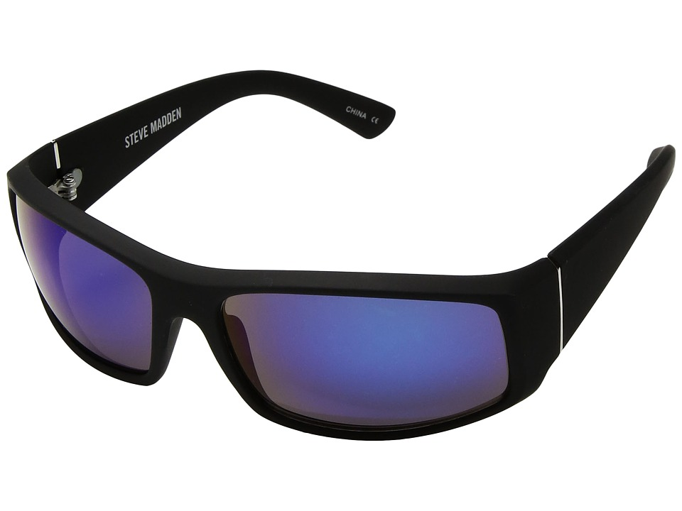 Steve Madden - SMM87819 (Black/Blue) Fashion Sunglasses