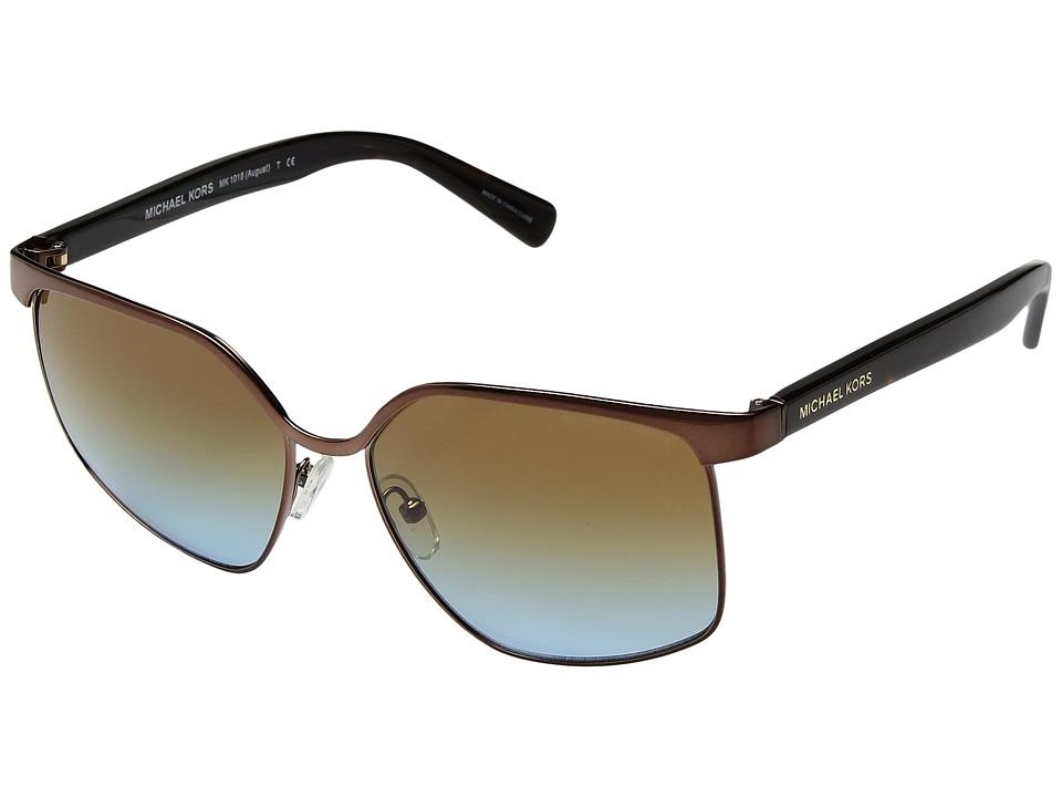 Michael Kors - 0MK1018 (Bronze) Fashion Sunglasses