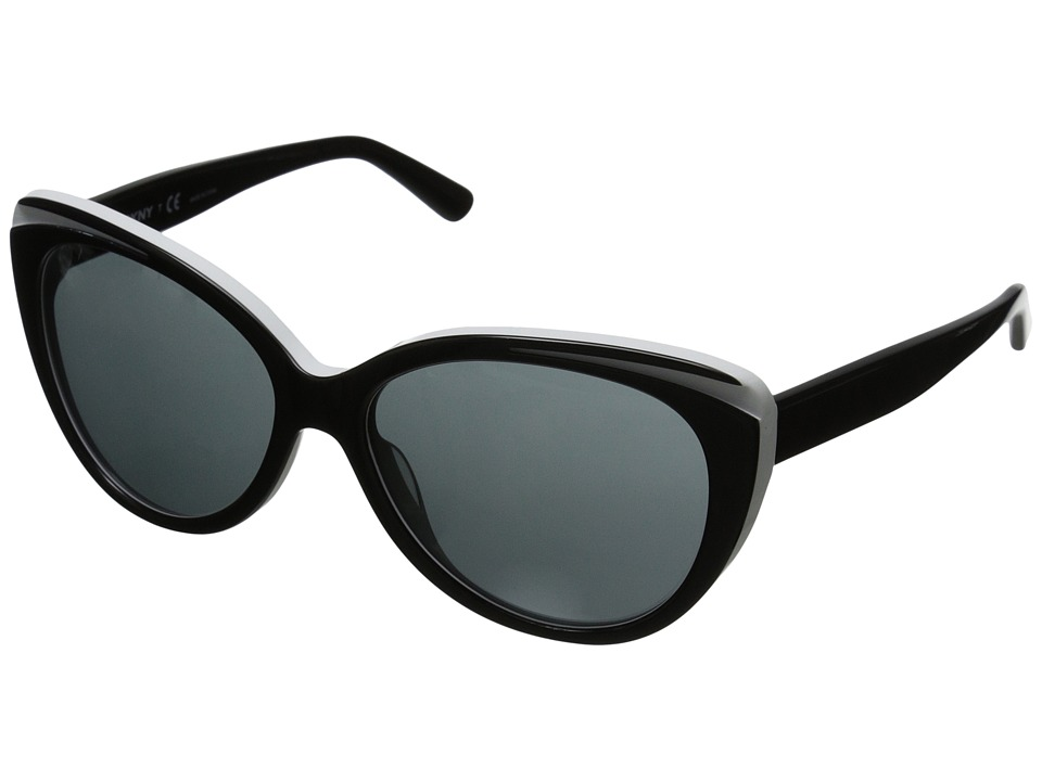 DKNY - 0DY4125 (Black/White) Fashion Sunglasses