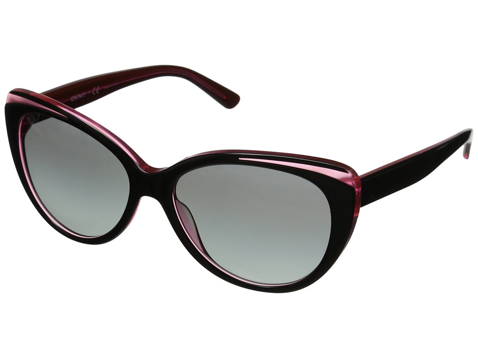 DKNY - 0DY4125 (Black/Pink) Fashion Sunglasses
