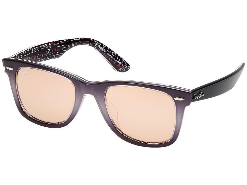 Ray-Ban - 0RB2140F (Light Grey) Fashion Sunglasses