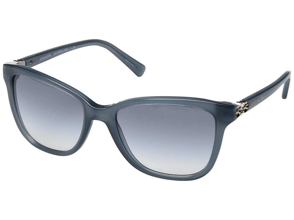 COACH - 0HC8187B (Blue) Fashion Sunglasses