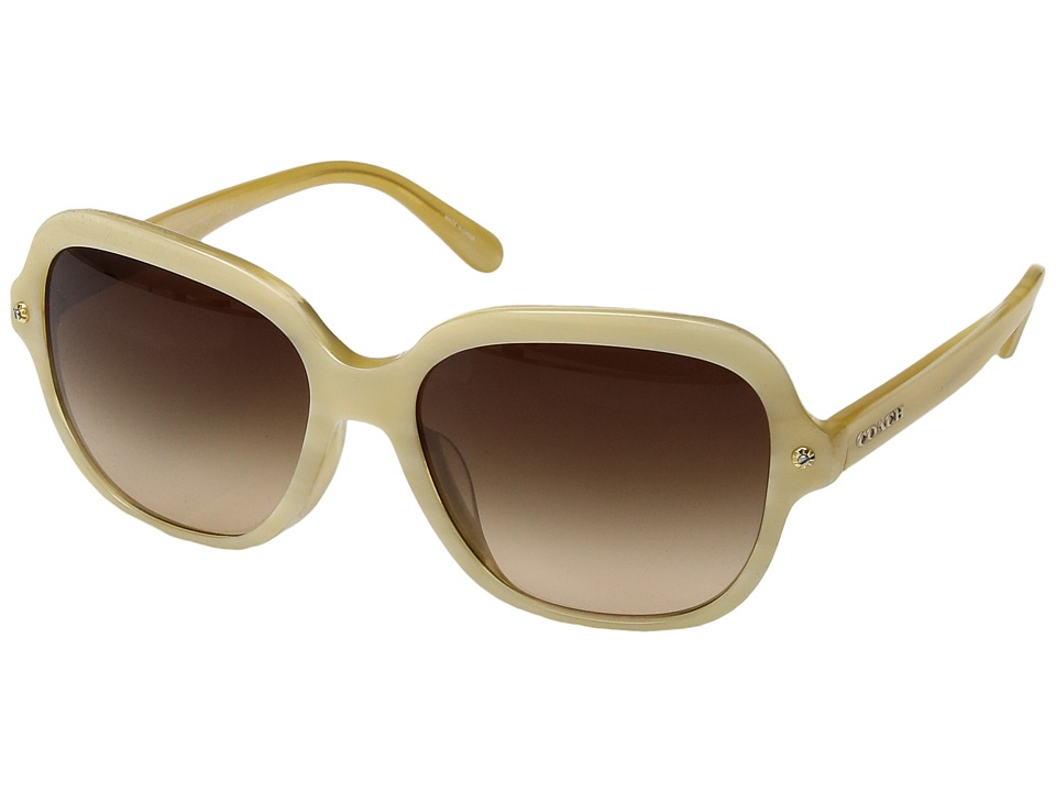 COACH - 0HC8192F (Bone) Fashion Sunglasses