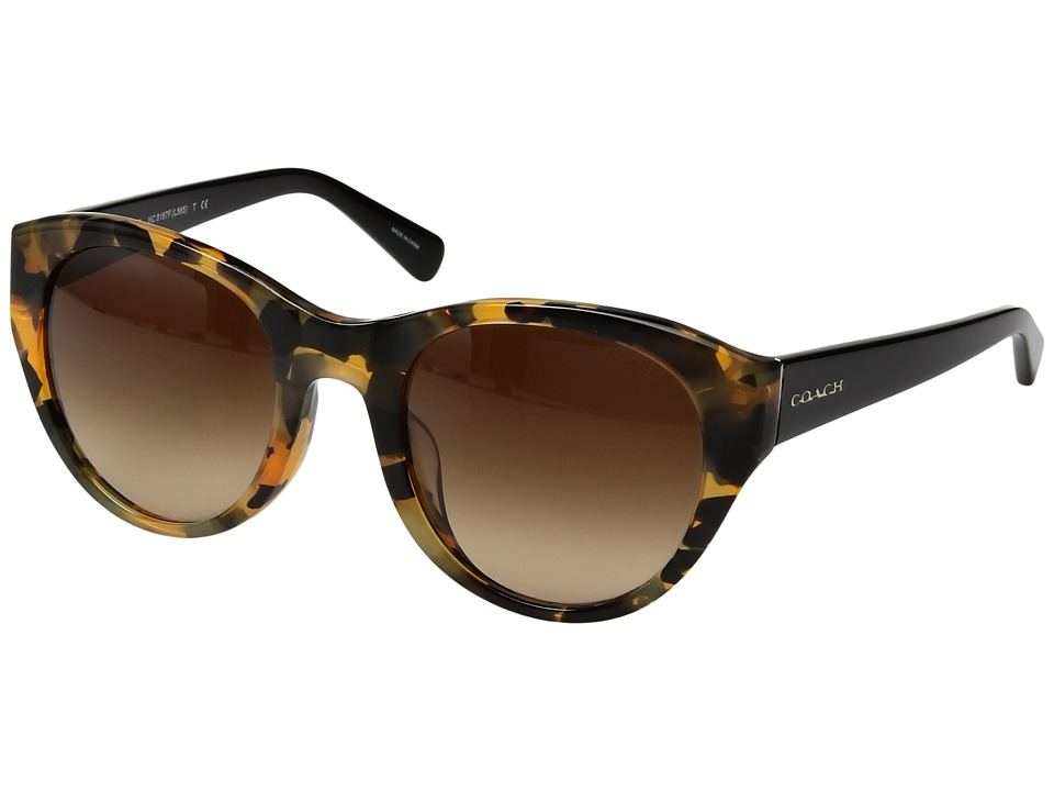 COACH - 0HC8167F (Tortoise) Fashion Sunglasses