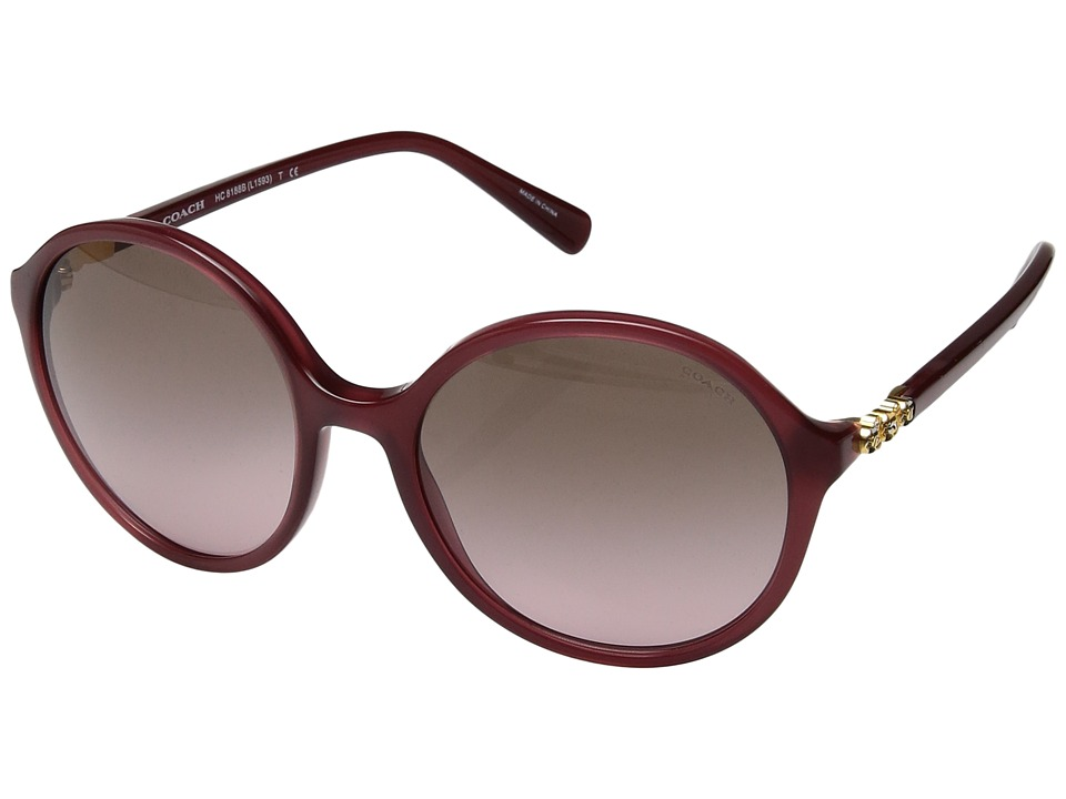 COACH - 0HC8188B (Berry) Fashion Sunglasses