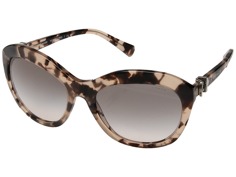 COACH - 0HC8184 (Tortoise) Fashion Sunglasses