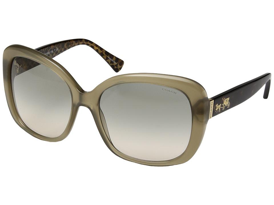 COACH - 0HC8158 (Grey) Fashion Sunglasses