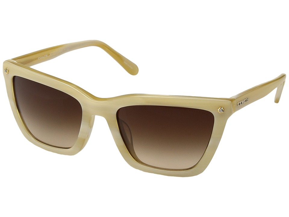 COACH - 0HC8191F (Nude) Fashion Sunglasses