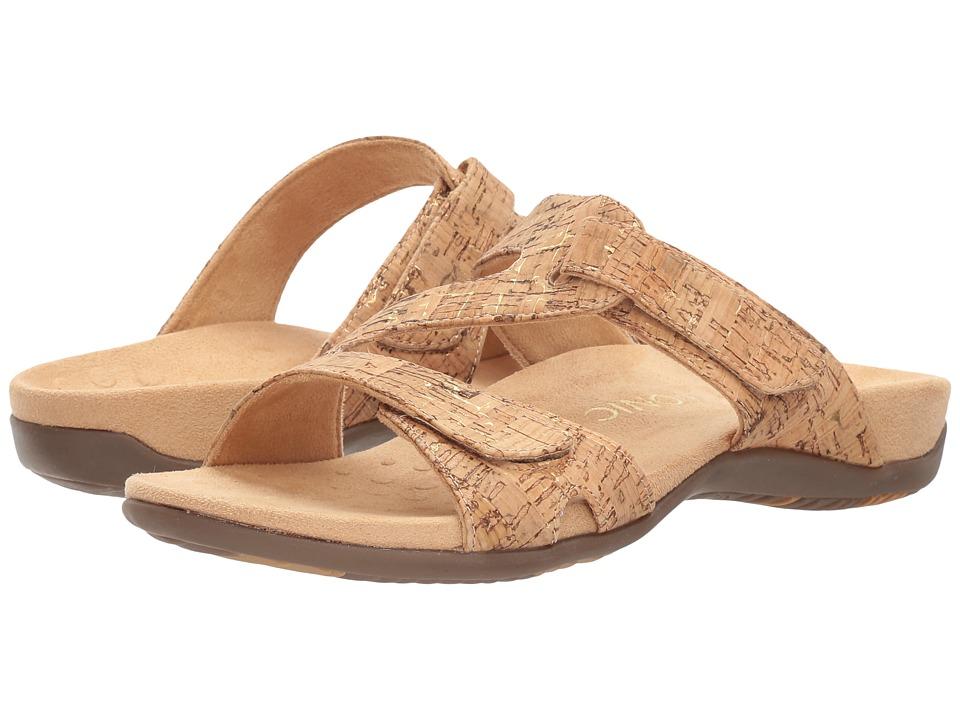 VIONIC - Lauren (Gold Cork) Women's Shoes