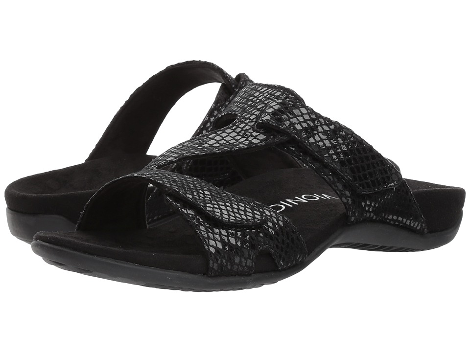 VIONIC - Lauren (Black Snake) Women's Shoes