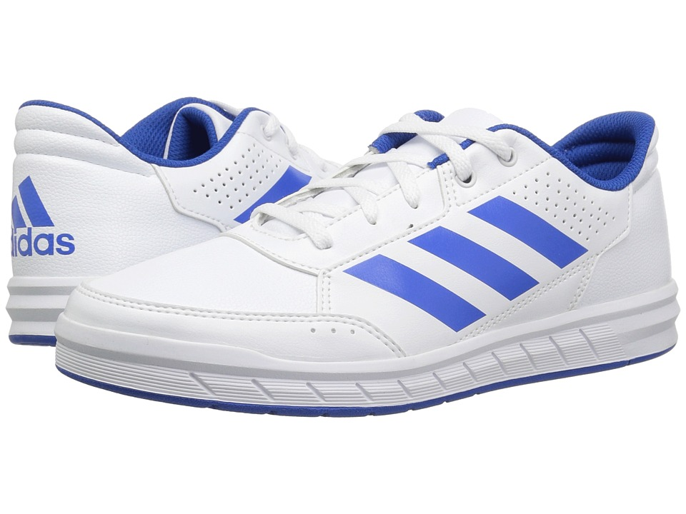 adidas Kids AltaSport (Little Kid/Big Kid) (White/Blue/White) Kids Shoes