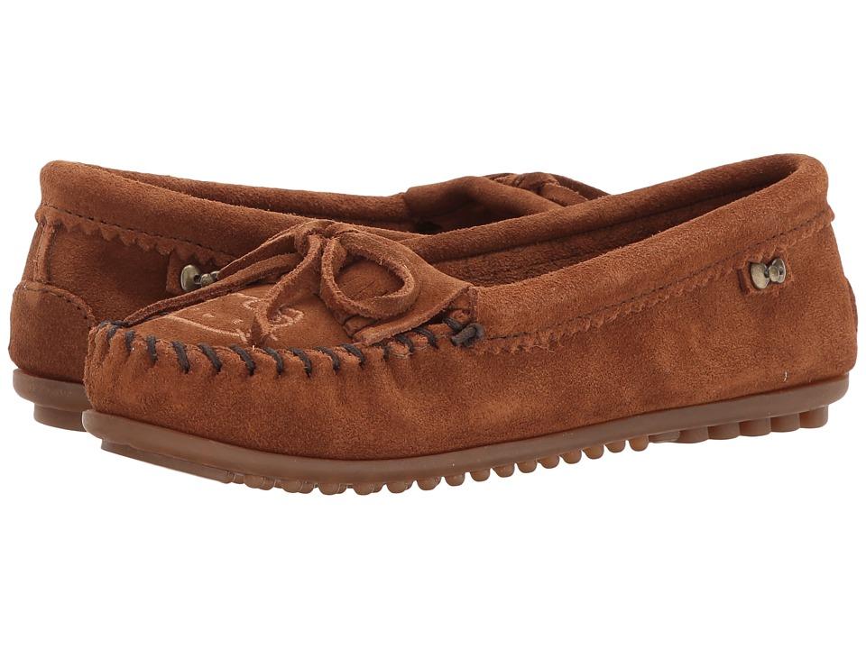 Minnetonka - Hello Kitty(r) Kilty (Brown) Women's Shoes