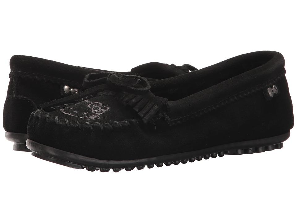 Minnetonka - Hello Kitty(r) Kilty (Black) Women's Shoes