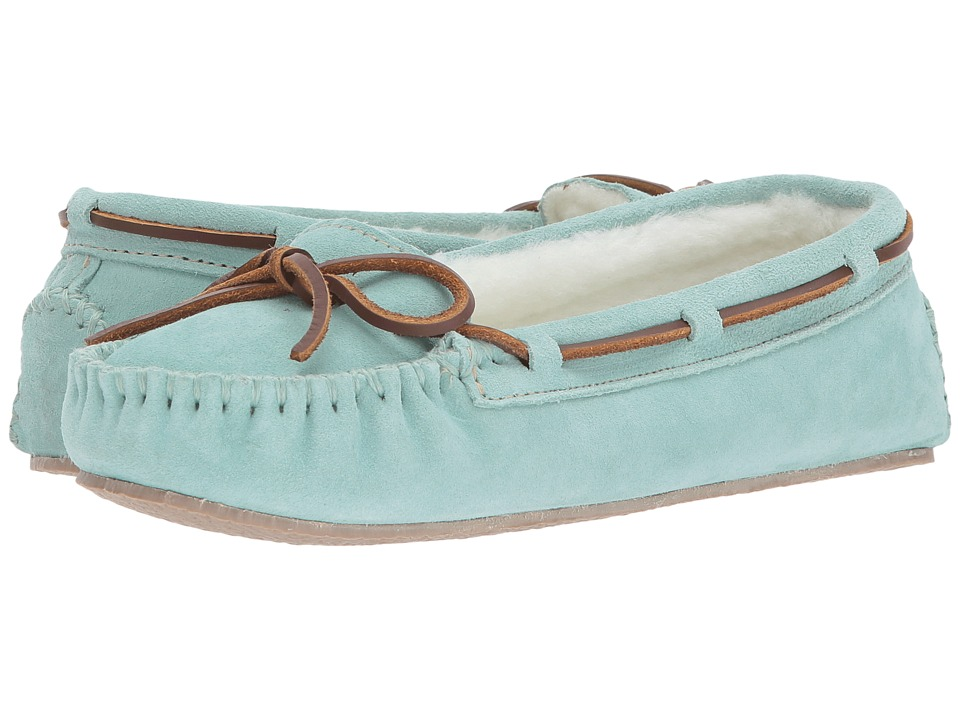 Minnetonka - Cally Slipper (Mint) Women's Shoes