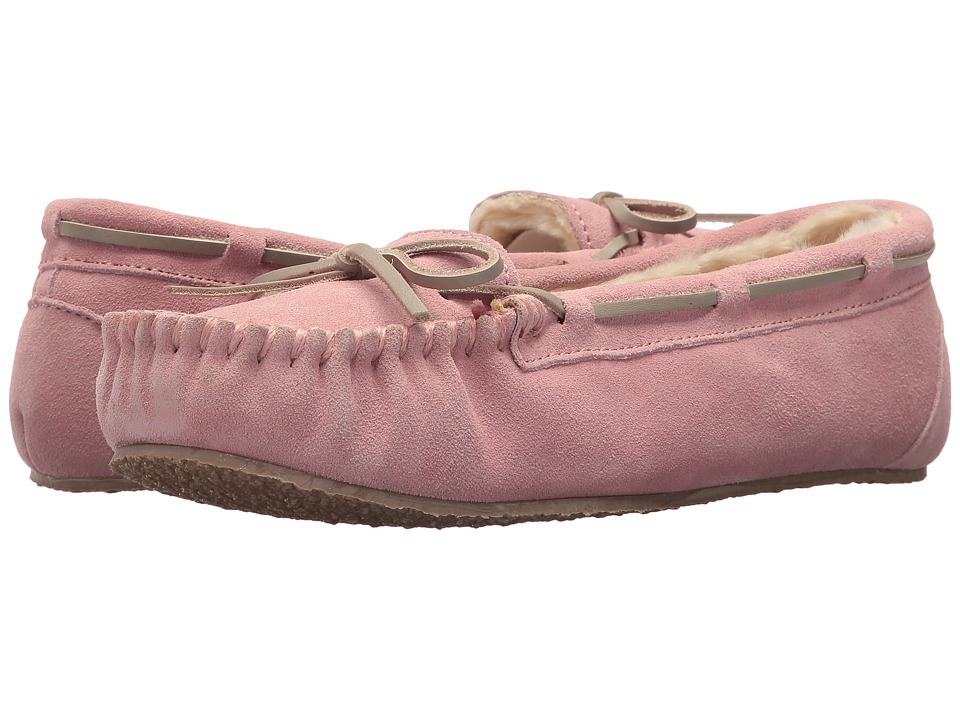 Minnetonka - Junior Trapper (Blush/Grey Lace) Women's Shoes